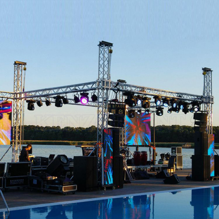 Mini Stage Aluminum Portable Box Truss Pillar