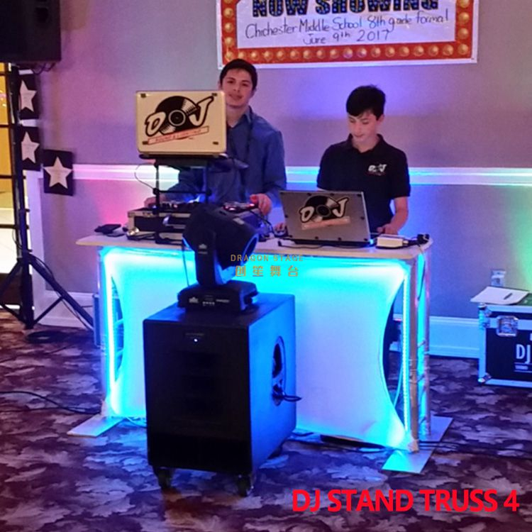 Booth Triangle Tower DJ Truss