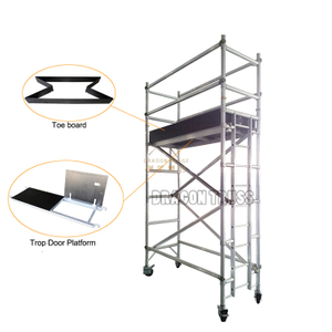 Aluminum Single Climb Ladder Scaffolding for Sale 5.22m