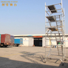Unit Mobile Double scaffolding with step ladder
