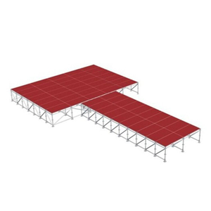 shaped mobile concert T Stage