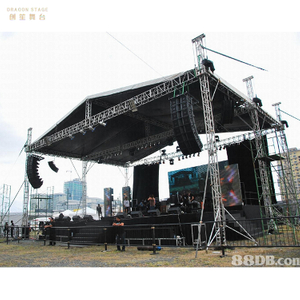 Barrier Aluminum Concert Sound Truss