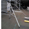 Portable Mobile Double scaffolding with climbing ladder