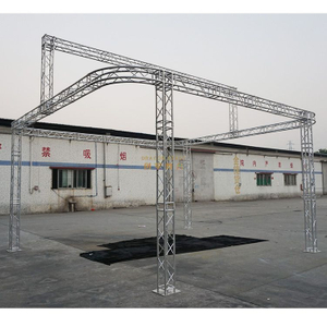 Portable 20x20 Round Truss Display