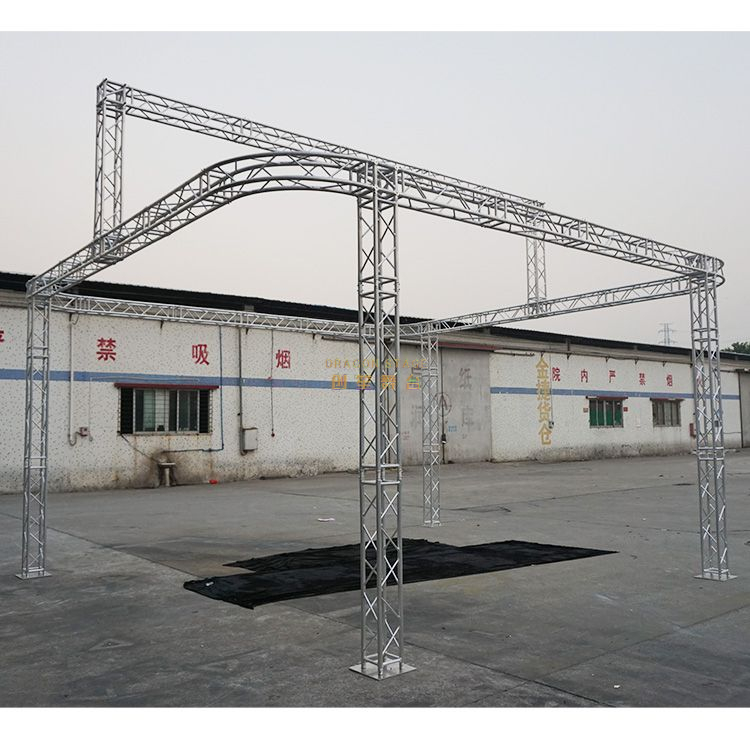 LED 20x20 Round Truss Display