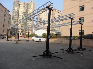 6m Steel Heavy Duty Crank Stand Lighting Truss for Sale