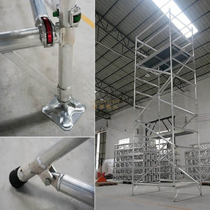 Portable Frame Double scaffolding with climbing ladder
