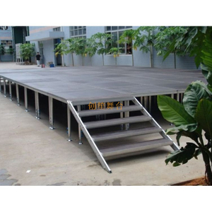 shaped adjustable outdoor T Stage