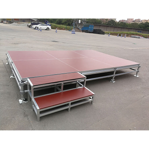 portable aluminum park Square Stage