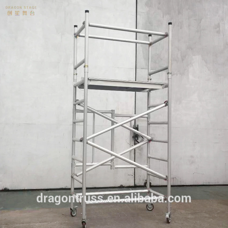 Portable Mobile Ladder Foldable scaffolding