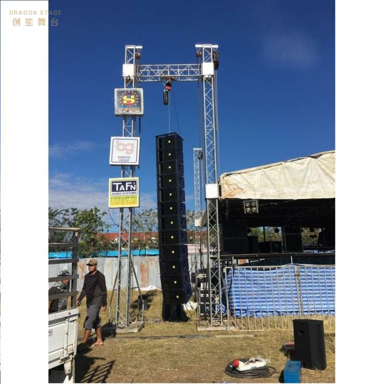 Hanger Aluminum Wedding Line Array Truss