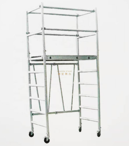 Rolling Mobile Ladder Foldable scaffolding