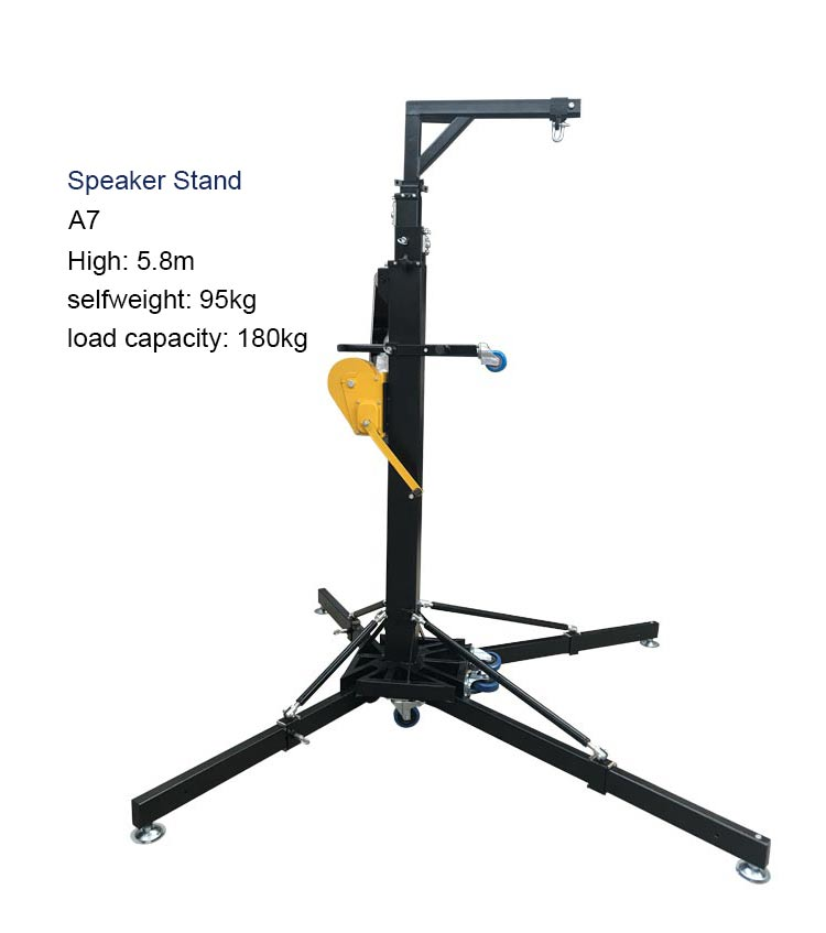on Stage Crank Stands Speaker Stands for Sale 5.8m